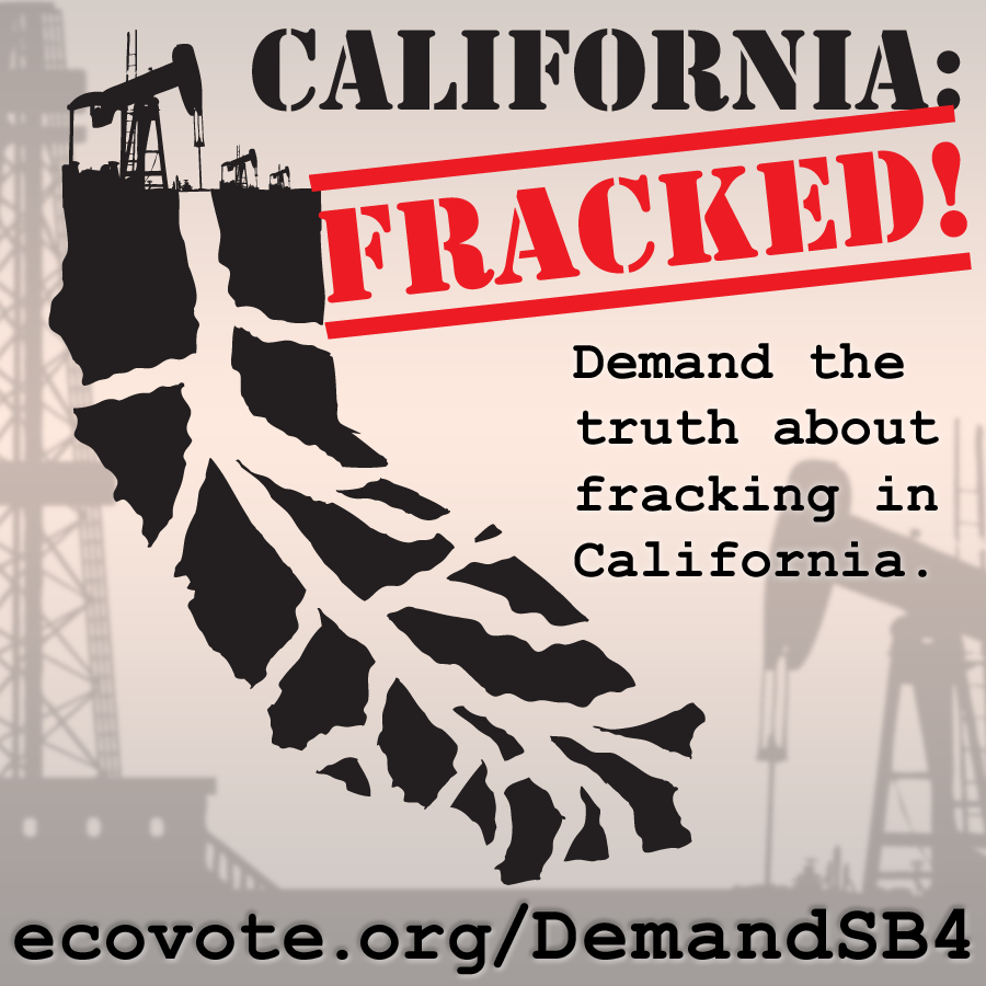 Opposition to fracking was a huge campaign for CLCV in 2013 and 2014. I created the illustration of the fractured California in 2013 and have been flattered to see it imitated elsewhere since then.