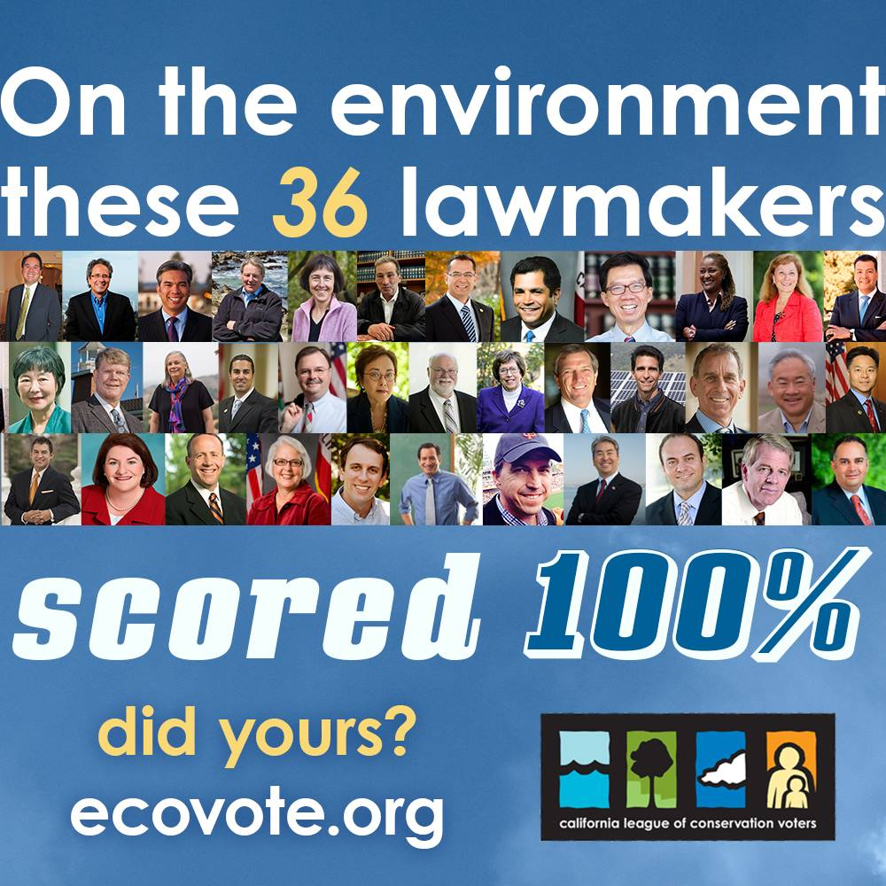 Images of legislators with perfect CLCV scores