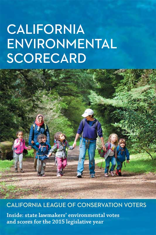 The print version of the 2016 California Environmental Scorecard