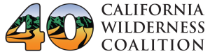 40th anniversary logo for CalWild