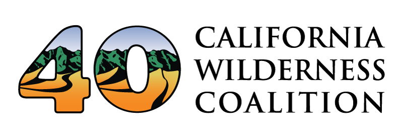 40th anniversary CalWild logo