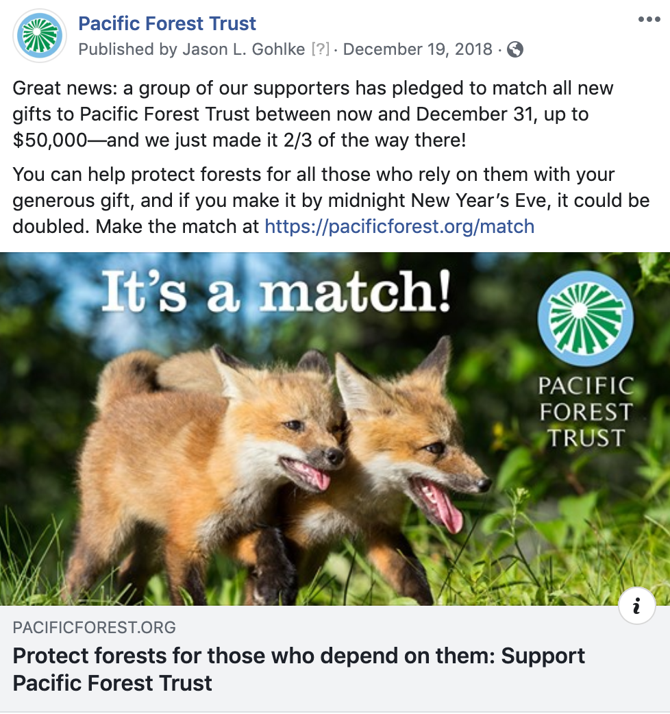 Appeal: 12/19/18 Facebook post